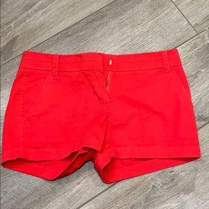 J. 3/$26 Crew chino shorts